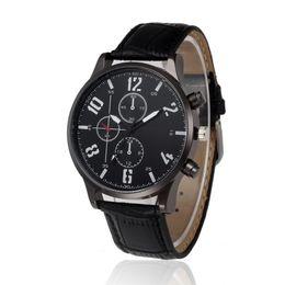 Wholesale Beautiful Ladies Watches - New men watch 2018 New Fashion hot beautiful wonderful amazing Ladies PU Leather High-Quality Dail Quartz Watch 17323 P*21