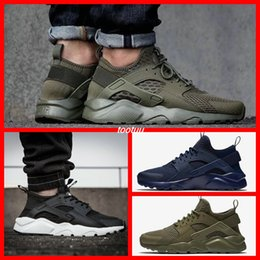 Wholesale Golf Iv - Airs Run Design Air Huarache 4 IV Running Shoes For Men&Women, Lightweight Huaraches Sneakers Athletic Sport Outdoor Harache hiking Shoes