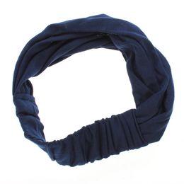 Wholesale Modern Marine - Modern Hair Headband Headscarf Headband for Sport Yoga Jogging Leisure marine