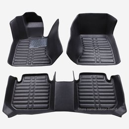 2019 bandeja de arranque Custom fit car floor mats for Jeep Grand Cherokee Commander Compass Patriot 3D car-styling heavyduty carpet floor liner RY88