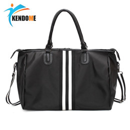 3166094be7 Women Men s Waterproof Outdoor Sports Training PU Leather Gym Shoulder Bags  Travel Fitness Bag Portable Multi-function Handbags