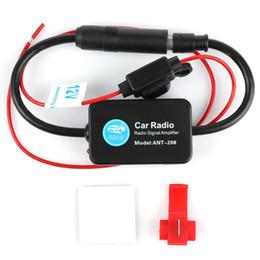 Радиосигналы онлайн-Cheyoule DC 12 в Ant-208 радио FM антенна усилитель сигнала Booster для морской автомобиль лодка RV