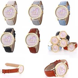 2019 orologi impermeabili svegli Carino unicorno impermeabile orologio da polso uomo donna quarzo gioielli studente paio di orologi per bambini regalo bambini orologio in pelle GGA782 100 pz orologi impermeabili svegli economici