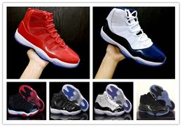Wholesale mesh 11 - 11 Gym Red Chicago 11s Prom Night Concord Space Jam Legend Gamma Blue Midnight Navy Basketball Shoes XI Bred Men&Woman Sports Shoe Athletics