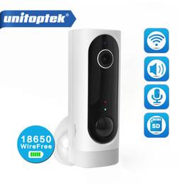 cámara de video sin cables Rebajas Batería 100% sin cables Cámara IP inalámbrica Wifi 720P 1080P Monitor de bebé en interiores Cámara de seguridad Monitoreo de video Audio bidireccional