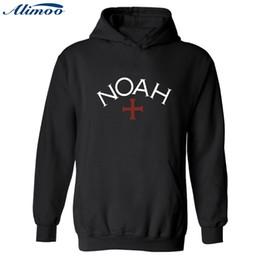 Wholesale thin cotton winter hat - Alimoo Noah Men Hoodies Sweatshirt Cross Jesus's redemption Hooded Sweatshirt New Mens Winter Cotton Coat 4XL XXS