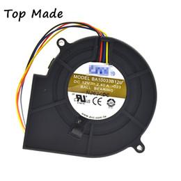 2019 центробежные вентиляторы 12v For AVC 9733 BA10033B12S 12V 2.85A 4pin Blower Centrifugal Cooling Fan дешево центробежные вентиляторы 12v