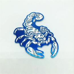 Personnalité 3D Scorpions auto logo autocollant de voiture en métal insigne emblème queue autocollant ? partir de fabricateur