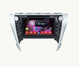 Wholesale Navigation Europe - In Dash Car DVD GPS Navigation DVD Player for Toyota Camry 2012 (Asia & Europe) Android 6.0 or WinCE System