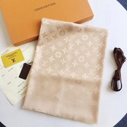 Wholesale branded handkerchiefs - Hot Sell luxury Georgette brand women's scarves high-quality georgette scarves designer scarves 180*90cm women's beach handkerchiefs