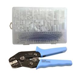 Wholesale Crimp Set - 900pcs JST-XH 2.54mm Connectors Assortment Kit Crimping Tool Crimper Plier Set