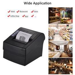 kommerzielle etikettendrucker Rabatt Aibecy Thermobondrucker, kompatibel mit ESC / Hochgeschwindigkeitsdrucker Professionelle Zahlungsmaschine USB Serial Ethernet Port