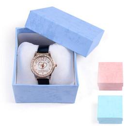 Wholesale Bracelet Box Pink - Wholesale-Durable saat kutusu Packaging Boxes For Jewelry Organizer High Quality Gift Watch Box Bracelet Storage Case Cajas para relojes