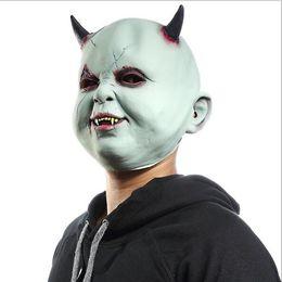 2019 зомби-маски 2018 Новый Техас бензопила резня латекс маски для лица страшный фильм косплей Хэллоуин костюм реквизит высокое качество зомби призрак Маска игрушки скидка зомби-маски