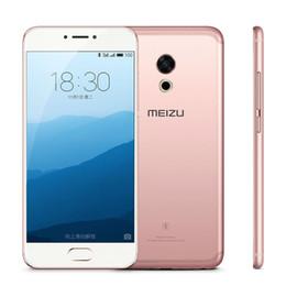 cdma telefoni cellulari Sconti Originale Meizu Pro 6s Pro6s 4G LTE Cell Phone 4GB RAM 64GB ROM Helio X25 Deca Core 5.2inch 3D Press 12.0MP Fingerprint Cell Phone
