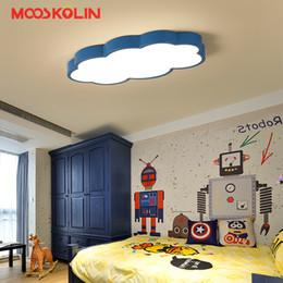 Mädchen Zimmer Deckenleuchten Rabatt 2018 LED Cloud Kinderzimmer  Beleuchtung Kinder Deckenleuchte Baby Deckenleuchte Mit Blau Weiß