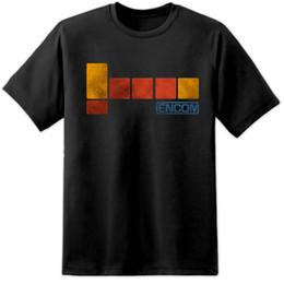 filmes antigos Desconto Detalhes zu Mens Encom Tron Filme T Shirt (S-3XL) Vintage Old Skool Retro Flynns Arcade Engraçado frete grátis Unisex presente Ocasional