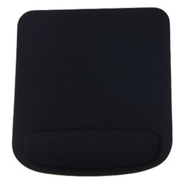 Wholesale blue mouse mat - Rectangle Wrist Support Cloth + EVA Mouse Pad Mice Mat For Compute