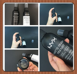 Wholesale Nail Finished - DROP SHIPPING New Arrival NYX MAKEUP SETTING SPRAY Matte Finish & Dewy Finish Long lasting Setting Spray 60ML Face Beauty DHL Free