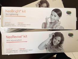 Wholesale Price Oxygen - Factory Price !!! Neo Bright Kit Neo Revive Kit Gel (Skin lightening Skin rejuvenation) For Oxygen Machine CE DHL Free Shipping