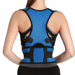 posture shoulder brace band Coupons - Unisex Back Posture Corrector Support Correction Lumbar Shoulder Brace Band Belt Health Care Back Belt