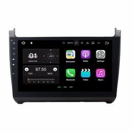 """Wholesale vw polo dvd - 10.1"""" 2 din Android 7.1 Car Radio GPS Multimedia Head Unit Car DVD for VW Volkswagen POLO 2012-2016 With 2GB RAM Bluetooth Mirror-link"""
