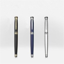 Wholesale Pen King - 1pc lot Picasso 903 Roller Ball Pen Pimio Pens 7 Colors Black Gold Lake Picasso Sweden Flower King Canetas Stationery 13.6*1.3cm