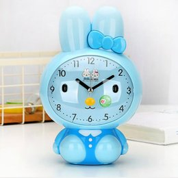 Wholesale Silent Alarm - M.Sparkling Function Alarm Clocks for Gifts and Crafts Children Creative Cute Cartoon Style Silent Mute Desk Table Snooze