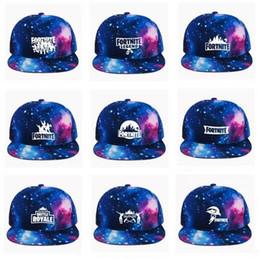 Hiphop Fortnite Caps Meninas Meninos Galaxy Impresso Moda Snapback Pai  Chapéu Das Mulheres Dos Homens Bonés de Beisebol Ajustáveis 12 Cores Frete  Grátis 256c5b38adc