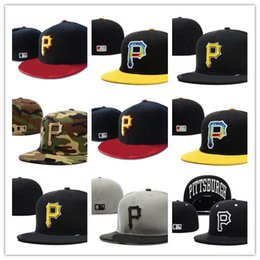 134296daef7 Good Selling Classic Online Shopping Pittsburgh Pirates Street Fitted  Fashion Hat P Letters Snapback Cap Men Women Basketball Hip Pop