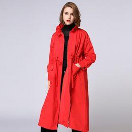 Abrigos rojos tallas grandes