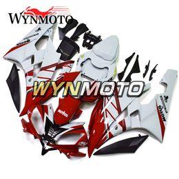 2019 kit carenado yamaha r1 morado Carenados completos Yamaha YZF1000 R6 2006 2007 06 07 Carrocería de inyección Carrocerías Caperuzas de moto Cubiertas Brillo Rojo Blanco Kits de carrocería Carenes Cascos