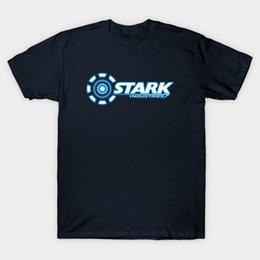 Wholesale Industry Shorts - Stark Industries T-Shirt