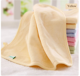 new born baby towels Promo Codes - 30*30 cm New Born Baby Towels with Hood Square Baby Velvet Cotton Towel