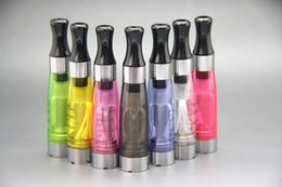 Wholesale Ego T Ecigarette - CE4 1.6ml Atomizer cartomizer Fit on eGO-T K W EVOD Series Ecigarette Clearomizer 7 Colors Free Shipping
