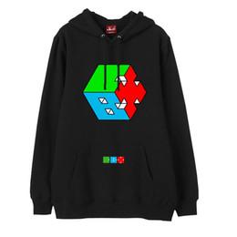 Wholesale Exo Shorts - Kpop exo cbx hey mama printing fleece pullover hoodies fashion winter autumn thick loose sweatshirt unisex hoodie