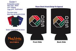 2019 soporte del refrigerador rechoncho 250pcs + 250pcs Custom Stubby Holder neopreno botella de cerveza enfriador para barra termo aislado bolsa impermeable hielo PacBeer puede cubrir soporte del refrigerador rechoncho baratos