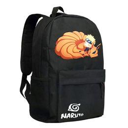 backpack naruto UK - Cute Manga Naruto Backpack Individual Design Schoolbag for Boys Girls Bookbag