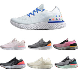 Wholesale high sport shoes ladies - High Quality Designers Epic React Mens Running Shoes Women Jogging Shoes 270s Lady Athletic Sport Shoe MAX270 Outdoor Shoe Trendy Breathable