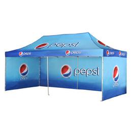 10FTX20FT Складная палатка с балдахином на открытом воздухе Большая складная палатка с беседкой с алюминиевой трубчатой структурой и 3 полными стенами supplier gazebo tents от Поставщики палатки для беседки