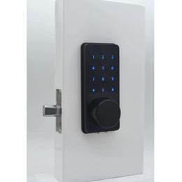 Les meilleures serrures électroniques avec serrure de porte wifi pour smartphone avec clavier numérique et trous pour clés cachés prennent en charge le pêne dormant automatique à la fermeture ? partir de fabricateur