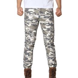 мужские модные боевые штаны Скидка MUQGEW Новая мода мужская повседневная брюки высокого качества Мужские армейские брюки с несколькими карманами Combat Zipper Cargo Waist Work Casual Pants