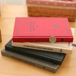 Cahiers à couverture rigide en Ligne-2017 New Vintage A5 / B5 Relié Cahier Périodique Journal 16K 32K Papelaria Impression Planificateur École Caderno Sketchbook