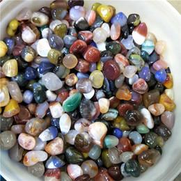 großhandel bienenschmuck Rabatt 200g natürliche Kristall Trommelsteine gemischte Trommelsteine Heilung Kristalle grobe Achat Steine als Geschenk Meditation Reiki Heilung Gitter