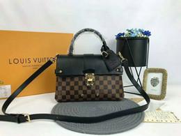 фарфор и Скидка продажи новых женщин бренд сумочка мода коричневый письмо одно плечо сумка Роскошные наклонный сумка женские сумки дизайнер сумки t04