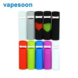 Wholesale Ego Skins - Vapesoon Silicone Rubber Case Sleeve Protective Cover for Joyetech eGo AIO D22 Start Kit Electronic Cigarette Skin Case Bag