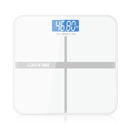Wholesale Value Glasses - GASON A1 Bathroom floor scales smart household electronic digital Body bariatric LCD display Division value 180KG 50G