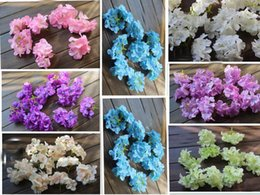 Wholesale Wholesale Hydrangea Silk Flower - Special artificial flowers silk flowers hydrangea flower head Starry curd flower floral arches GA66
