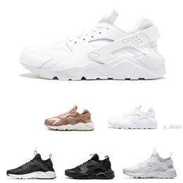 newest 53ca5 0b9e3 Großhandel Huarache Ultra Run Schuhe dreifach weiß schwarz Männer Frauen  Laufschuhe rot grau Huaraches Sport Schuh Herren Damen Turnschuhe uns 5.5-11  ...