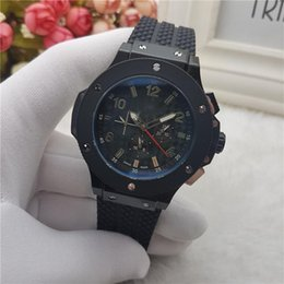 Wholesale Red Machinery - 2018 high quality European and American fashion watch male machinery six needle high-grade clocks retro business hot sale watch wholesale
